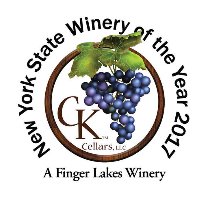 CK Cellars Winery Logo and Website Link